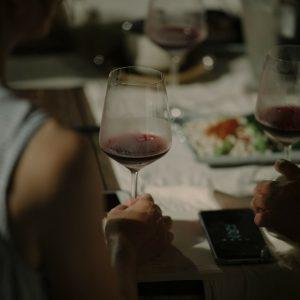 谷關泰好玩獵人體驗營_星光晚餐_紅酒