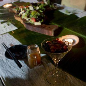 谷關泰好玩獵人體驗營_星光晚餐_涼麵